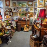 Assortment of fine art, antiques, vintage jewelry and precious metals